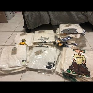 BUNDLE OF VINTAGE STUSSY SHIRTS ‼️READ DESCRIPTION